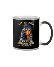 I Can't Go To Hell The Devil 2 Color Changing Mug tile