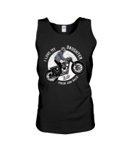 I Love My Daughter To The Moon and Back Unisex Tank thumbnail