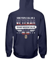 Some People Call Me Veteran - LIMITED AUDITON Hooded Sweatshirt back