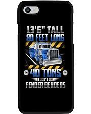 Tank Truck - 80 Feet Long 40 Tons Phone Case thumbnail