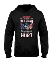 Back Off My Dad Is A Veteran  Hooded Sweatshirt thumbnail