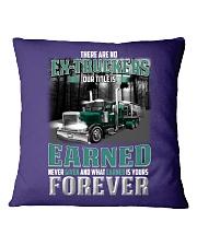 There's no Ex-Trucker Square Pillowcase thumbnail