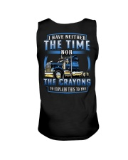 Trucker Clothes  - I dont have the time Unisex Tank thumbnail