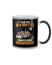 Logging Truck - What's your superpower Color Changing Mug thumbnail