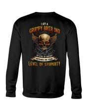 Grumpy Biker Dad - My level of sarcasm Crewneck Sweatshirt thumbnail