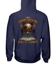 Grumpy Biker Dad - My level of sarcasm Hooded Sweatshirt thumbnail