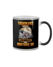 Trucker Clothes - Truckers See More Color Changing Mug thumbnail