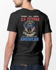 I Am A Proud Veteran American Classic T-Shirt lifestyle-mens-crewneck-back-5