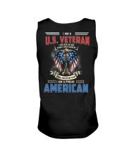 I Am A Proud Veteran American Unisex Tank thumbnail