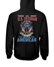 I Am A Proud Veteran American Hooded Sweatshirt thumbnail