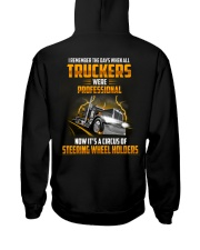 Trucker Clothes - I Remember the days Hooded Sweatshirt back