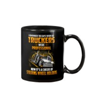 Trucker Clothes - I Remember the days Mug thumbnail