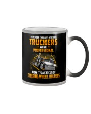 Trucker Clothes - I Remember the days Color Changing Mug thumbnail