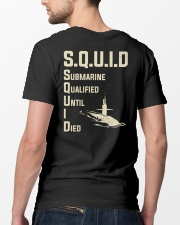 Submarine Qualified Until I Die Classic T-Shirt lifestyle-mens-crewneck-back-5