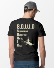 Submarine Qualified Until I Die Classic T-Shirt lifestyle-mens-crewneck-back-6