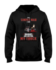 Trucker Clothes - I'm A Simple Man  Hooded Sweatshirt thumbnail