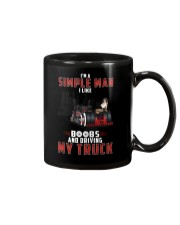 Trucker Clothes - I'm A Simple Man  Mug thumbnail