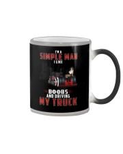 Trucker Clothes - I'm A Simple Man  Color Changing Mug thumbnail
