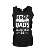 Gun Don't Kill People Dads With Pretty Daughter Do Unisex Tank thumbnail
