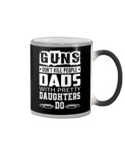 Gun Don't Kill People Dads With Pretty Daughter Do Color Changing Mug thumbnail