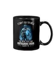 I Can't Go To Hell The Devil 1 Mug thumbnail