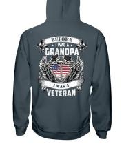 Before I Was A Grandpa I Am Veteran Hooded Sweatshirt thumbnail