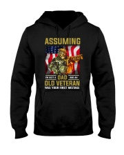 I'm Just A Dad And A Old Veteran  Hooded Sweatshirt thumbnail