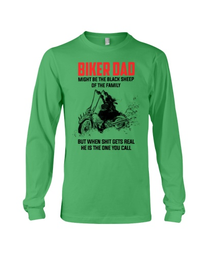 BIKER DAD - MIGHT BE THE BLACK SHEEP OF THE FAMILY