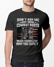 Don't Ask Me Why I Wore Combat Boots Classic T-Shirt lifestyle-mens-crewneck-front-13