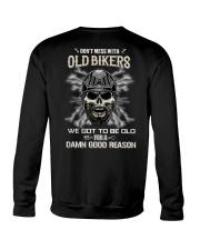 Don't mess with OLD BIKER Crewneck Sweatshirt thumbnail