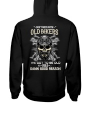 Don't mess with OLD BIKER Hooded Sweatshirt thumbnail