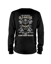 Don't mess with OLD BIKER Long Sleeve Tee thumbnail