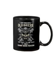 Don't mess with OLD BIKER Mug thumbnail