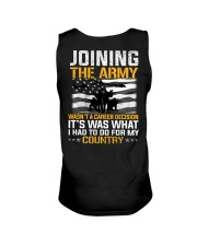 Joining The Army Wasn't A Career Decision Unisex Tank thumbnail