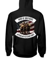 Band Of Brothers American Veteran Dads Hooded Sweatshirt thumbnail