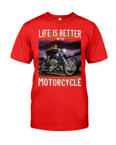 Life is Better With Motorcycle