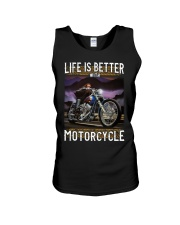 Life is Better With Motorcycle Unisex Tank thumbnail