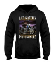 Life is Better With Motorcycle Hooded Sweatshirt thumbnail
