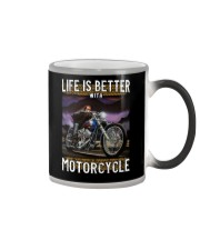Life is Better With Motorcycle Color Changing Mug thumbnail