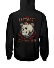 TATTOOED DAD MUCH COOLER SKULL Hooded Sweatshirt thumbnail