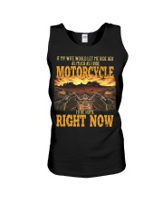 If my wife would let me ride her as much as i ride Unisex Tank thumbnail