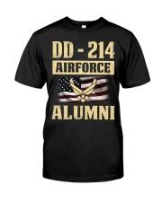DD - 214 Air Force Alumni Classic T-Shirt front