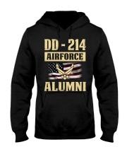 DD - 214 Air Force Alumni Hooded Sweatshirt tile