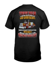 Trucker Clothes -Trucker god-given talents Classic T-Shirt thumbnail