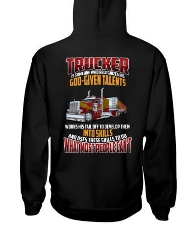 Trucker Clothes -Trucker god-given talents
