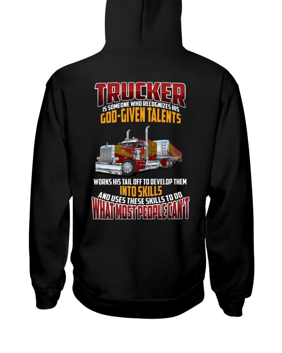 Trucker Clothes -Trucker god-given talents Hooded Sweatshirt