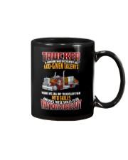 Trucker Clothes -Trucker god-given talents Mug thumbnail