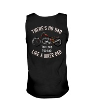 THERE'S NO DAD TOO LOUD TOO BAD LIKE A BIKER DAD Unisex Tank thumbnail