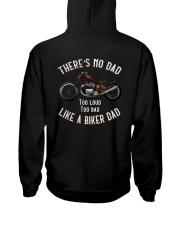 THERE'S NO DAD TOO LOUD TOO BAD LIKE A BIKER DAD Hooded Sweatshirt thumbnail