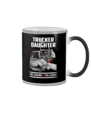 Trucker and Daughter - The Legend and The Legacy Color Changing Mug thumbnail